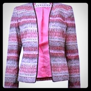 Kasper Multicolor Jacket Blazer
